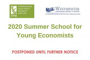 2020 Summer School for Young Economists