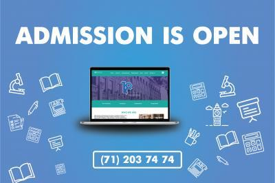 Admission 2020-2021 is open!