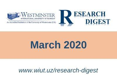 Research Digest: March