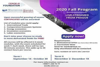 Live-Streamed Courses:Fall Program
