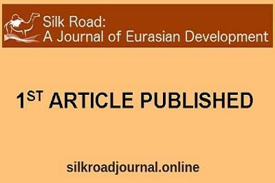 Silk Road: 1st Article Published