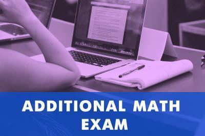 Additional Math Examination